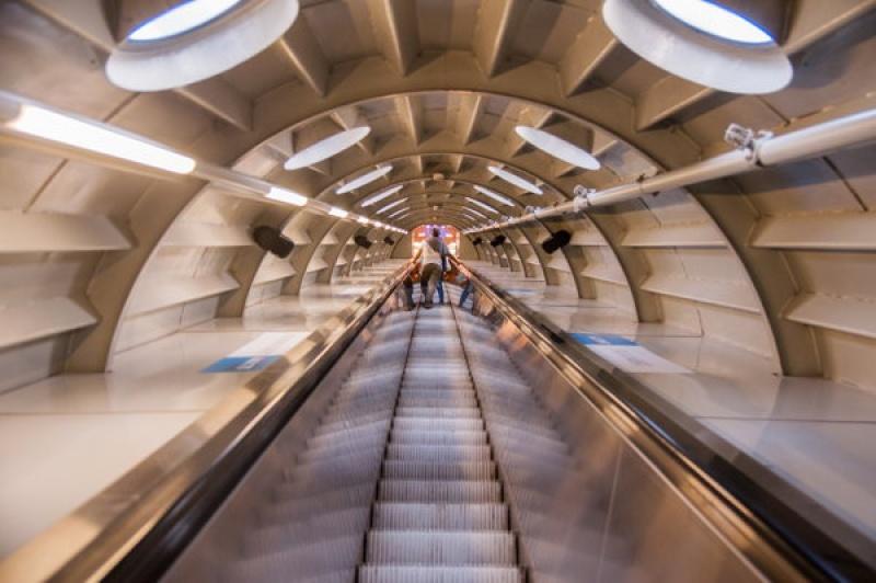 48h à Bruxelles - escalier - boules de l'atonium