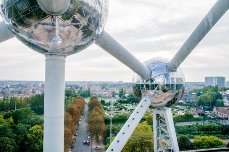 48h à Bruxelles - Dans les boules de l'atonium