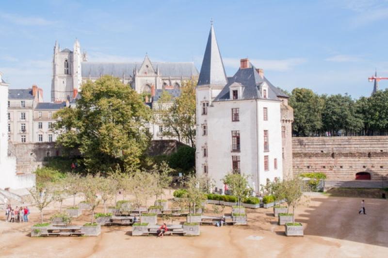 Découvrir la Loire Atlantique- château de Nantes