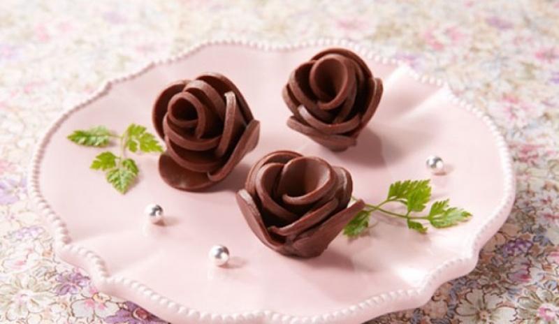 Des roses en chocolat - Japon