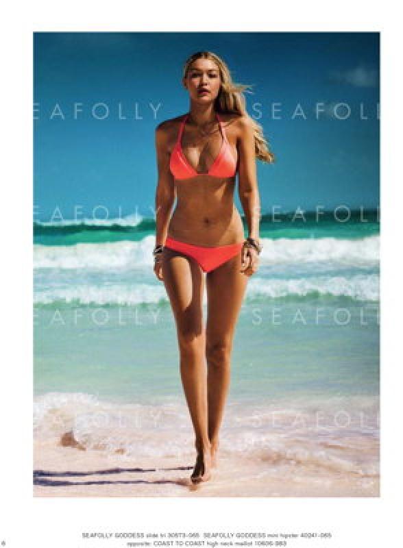Bikini sexy avec Gigi Hadid pour Seafolly