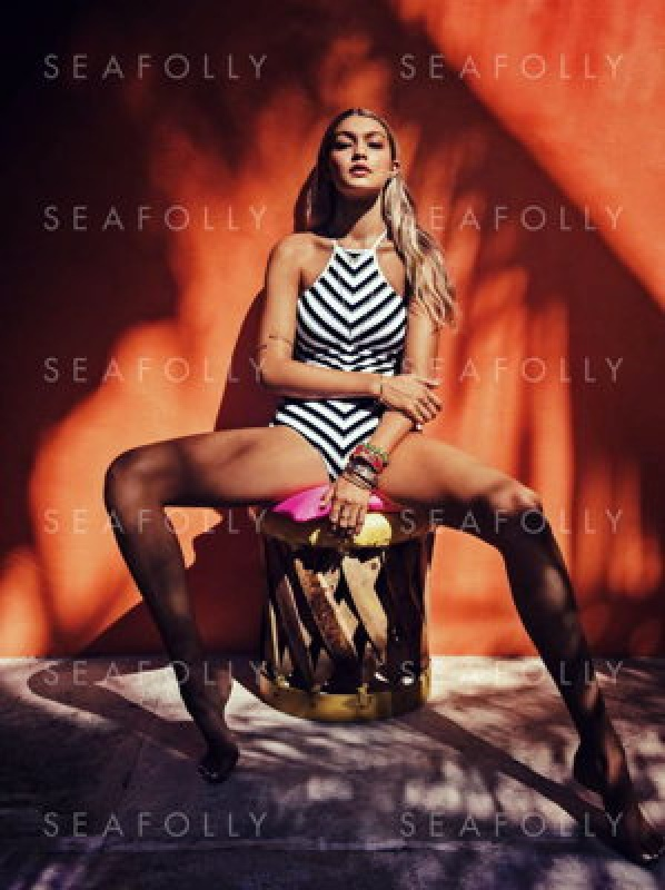 Maillot une pièce avec Gigi Hadid pour Seafolly