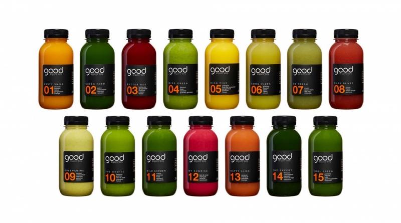 L'ensemble des bouteilles - Good Organic Only