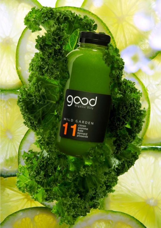 Une bouteille de Good Organic Only