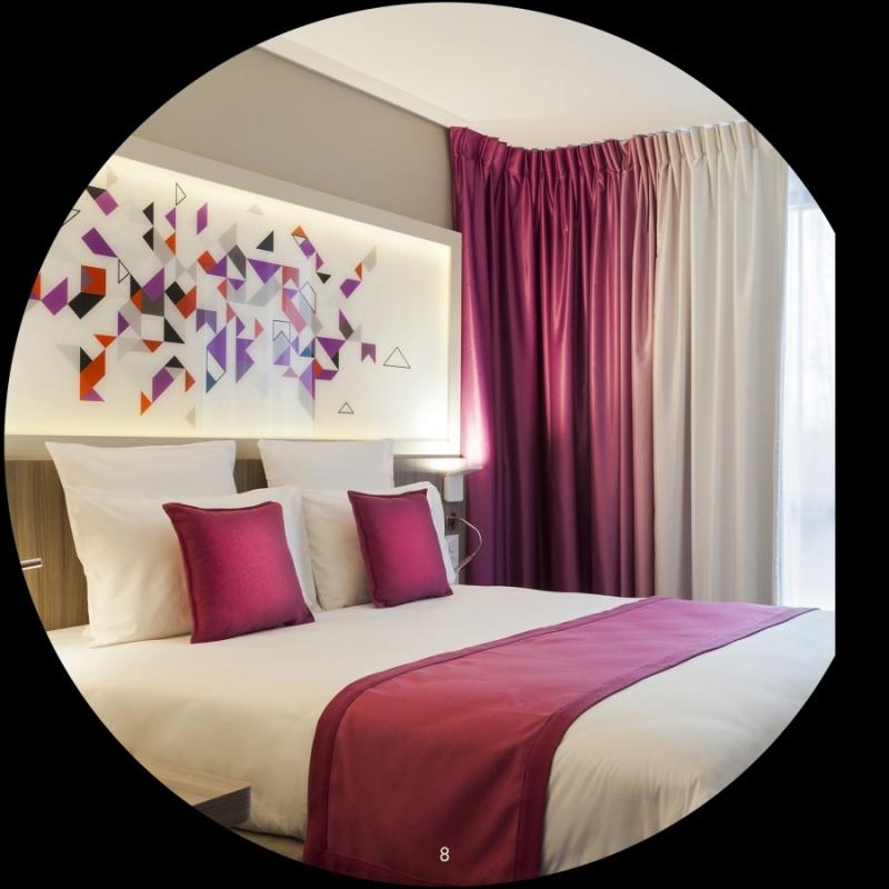 Chambre - hôtel Quality à Toulouse