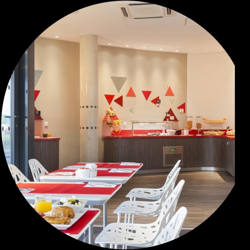 Petit déjeuner - hôtel Quality à Toulouse