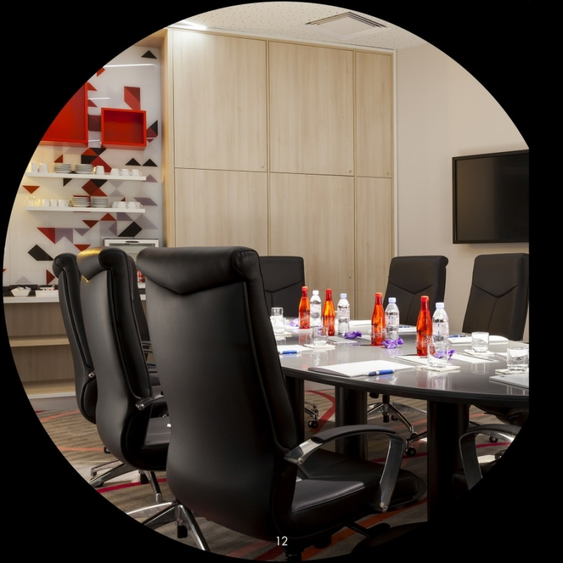 Salle de réunion - l'hôtel Quality - Toulouse