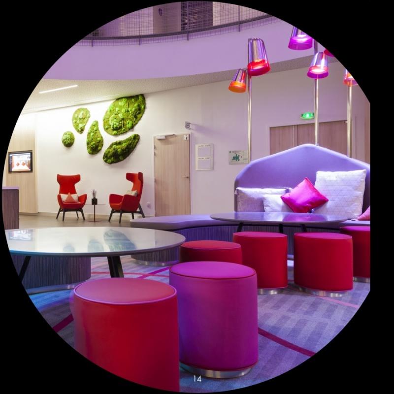 Salon - hôtel Quality - Toulouse