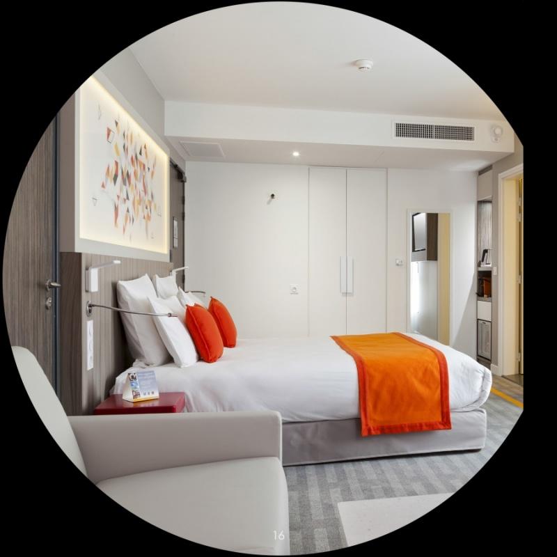 Chambre supérieure - hôtel Quality à Toulouse