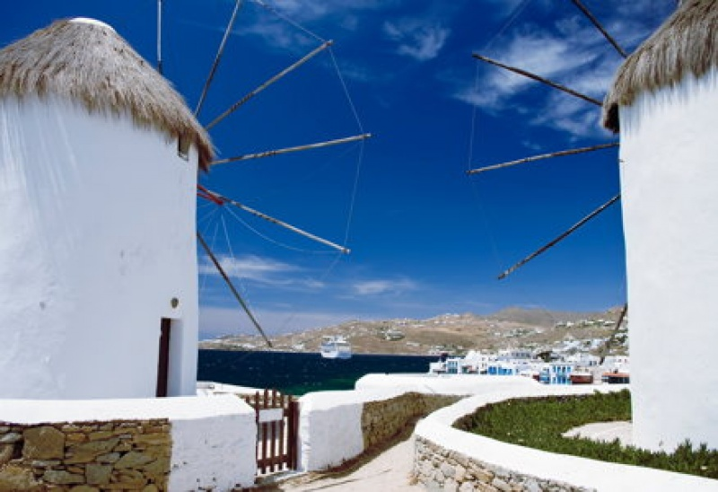 Les moulins en Grèce