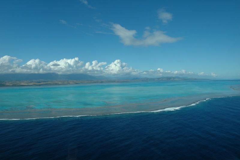 Arrivée à Nouméa, le lagon est sous mes yeux ébahis !