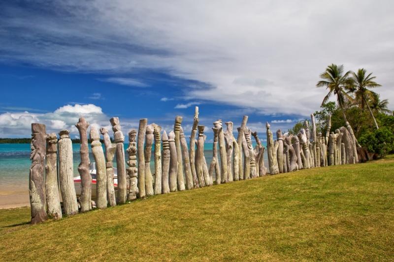 Au mémorial des Missionnaires en Nouvelle Calédonie