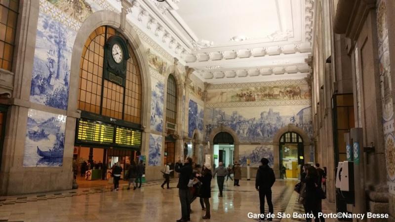 La Gare de Sao Bento-Porto