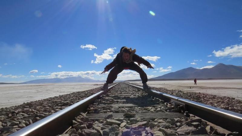 Argentine - Nicolas - voie ferrée