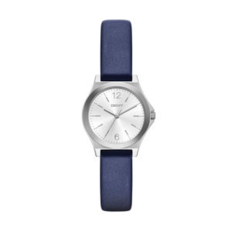 Montre bleue violette Dkny