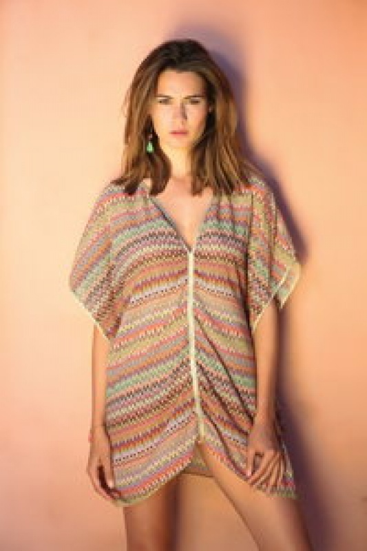 Robe de plage imprimée Beliza