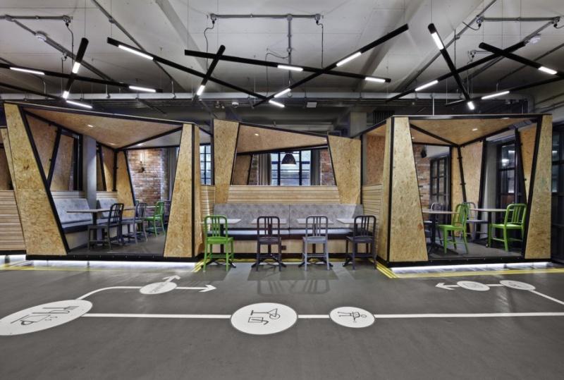 Espace petit déjeuner - Generator Hostel - Londres