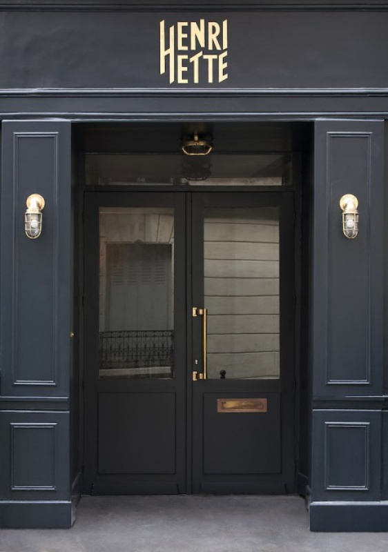 Entrée - hôtel Henriette - Paris