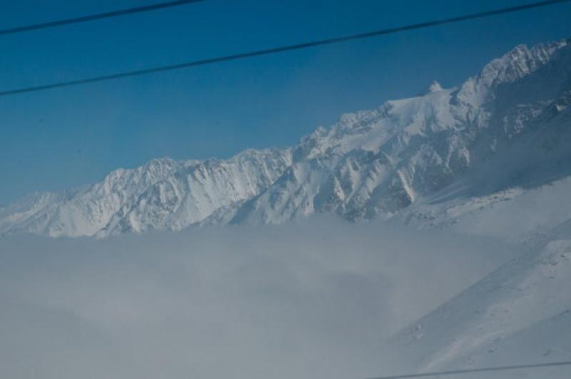 Percevoir les premiers monts - Mont-Blanc