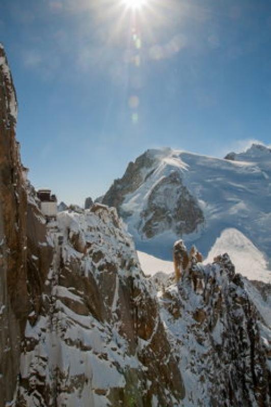 Continuer à grimper - Mont-Blanc