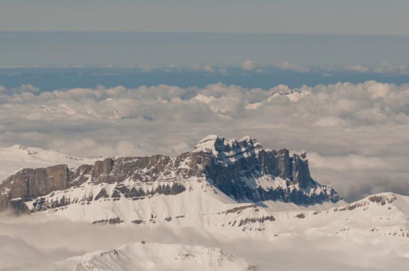 Piton rocheux - Mont-Blanc