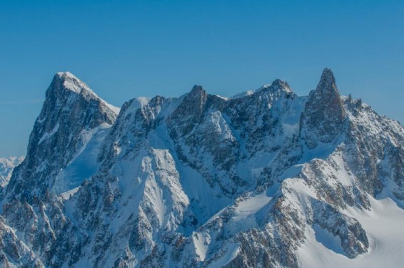 Sublime tout simplement au Mont Blanc