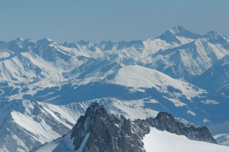 paysage grandiose - Mont-Blanc