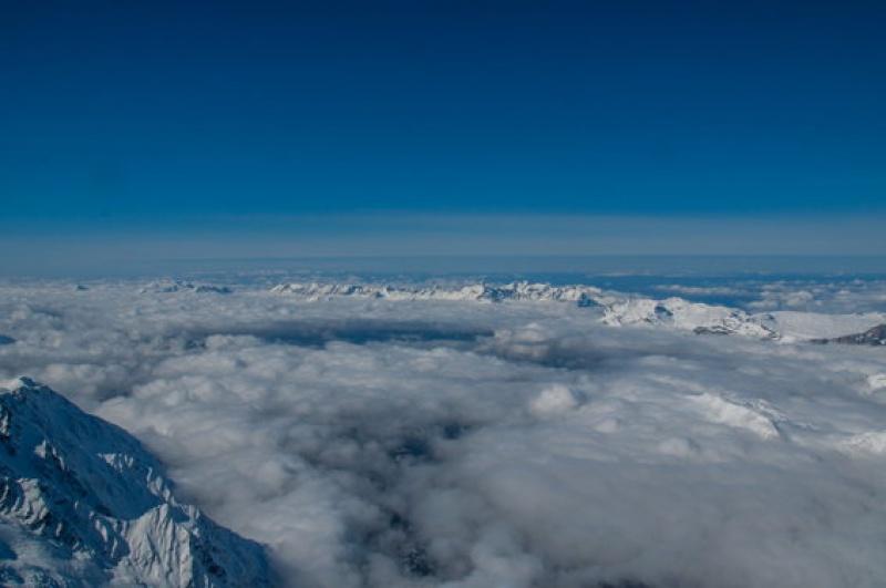 Paysage sublime au Mont Blanc