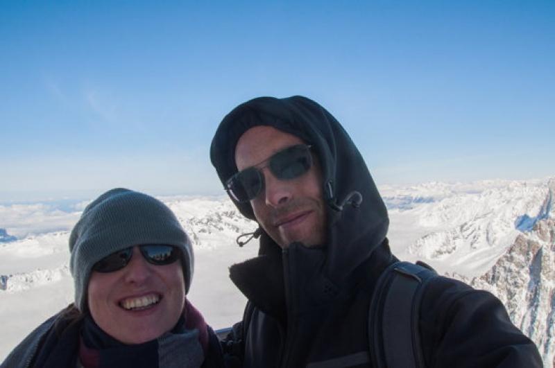 On est bien là haut - Mont-Blanc