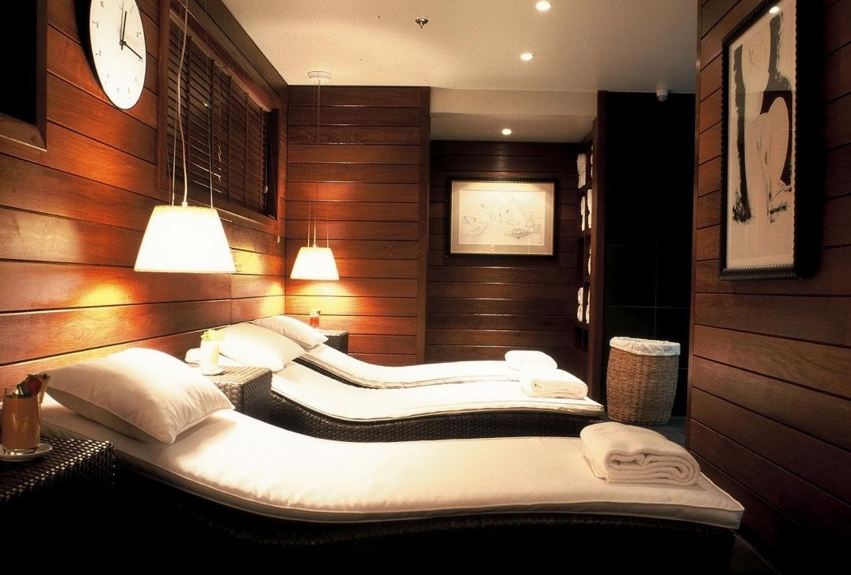 Le coin détente du spa de l'hôtel Renaissance à Paris