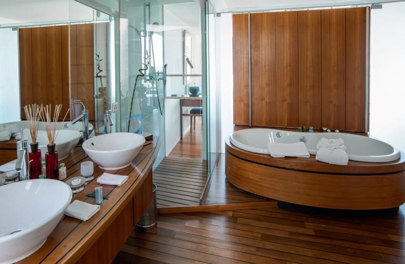 Salle de bain - hôtel sur pilotis