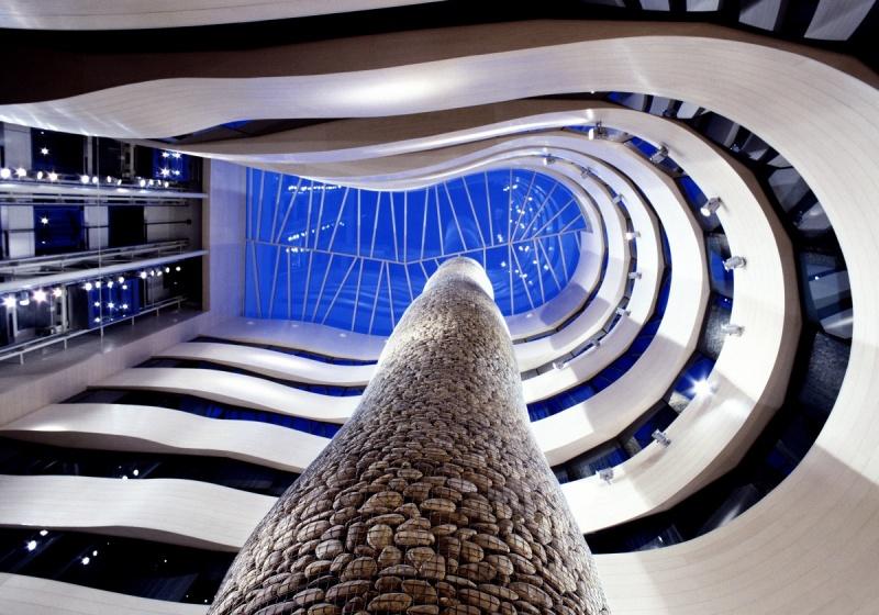 Vue en hauteur - Silken Gran Hotel Domine - Bilbao