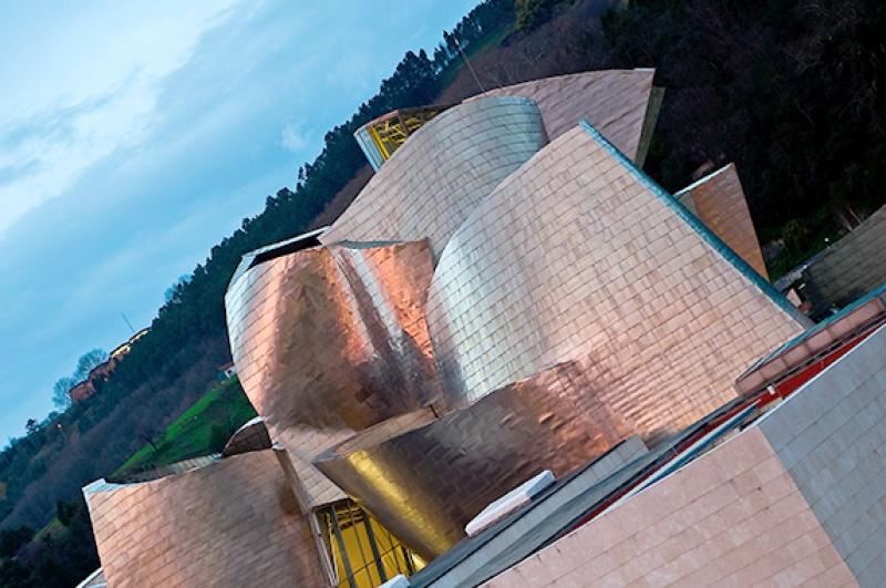 Le musée d'art contemporain - Bilbao - côté
