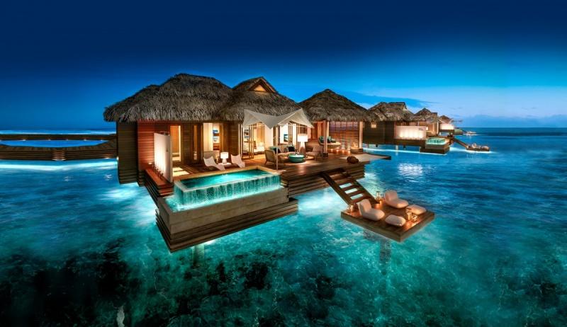 Décor de rêve - Sandals Royal Caribbean Resort & spa - Jamaïque