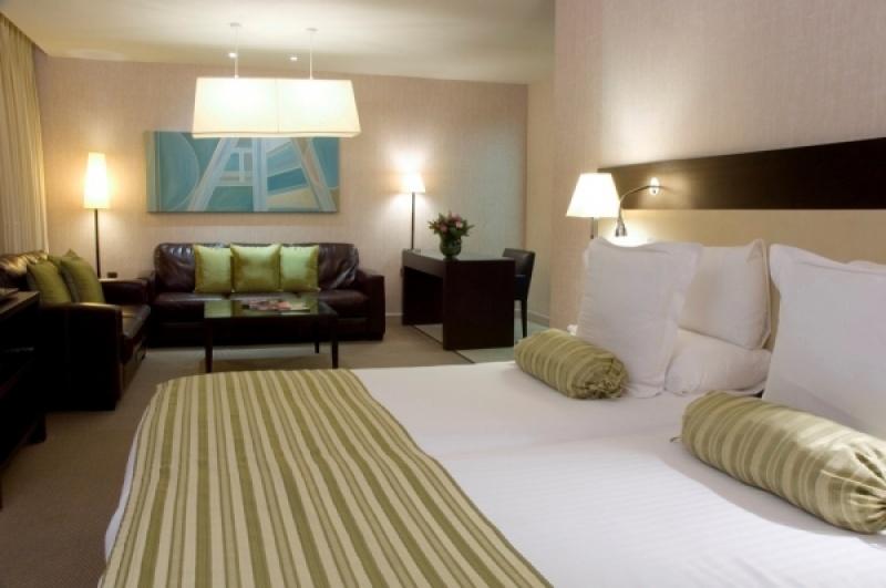 Dans la chambre du K west hôtel à Londres