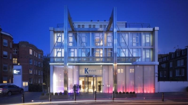Le spa du K-west hotel à Londres