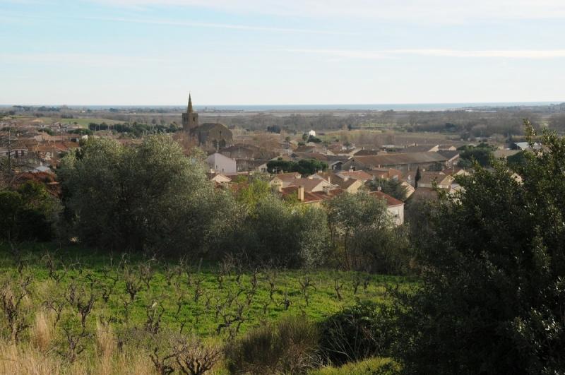 Vue - village de Portiragnes