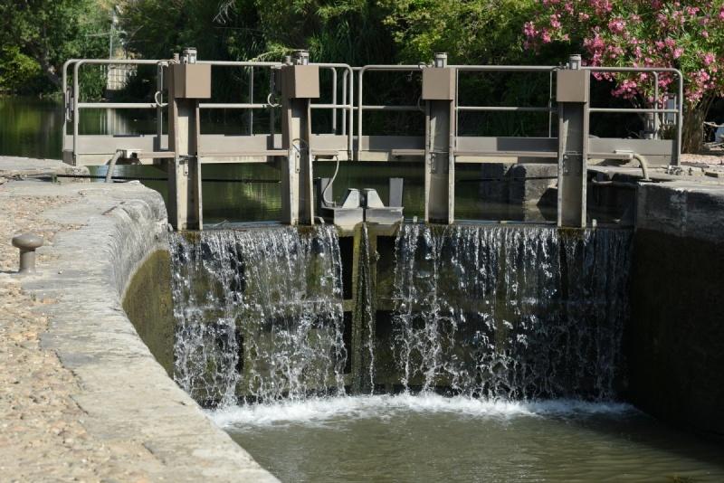 Écluse Canal du Midi - Portiragnes