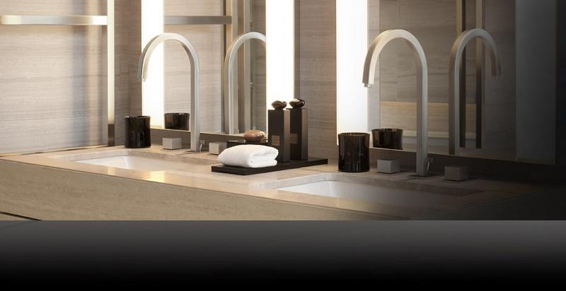 Salle de bain - Armani Hôtel - Milan