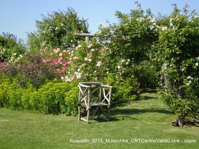 Le jardin - roses Roquelin