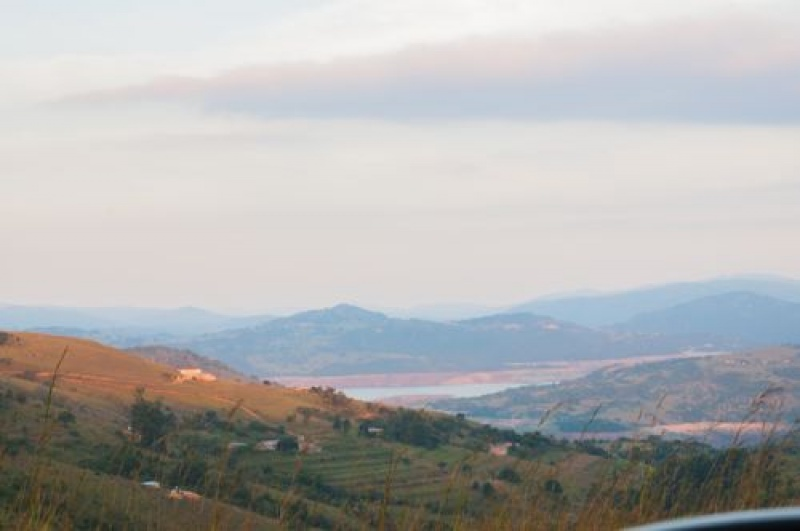 Voyage en Afrique du Sud-Vue sur le Swaziland