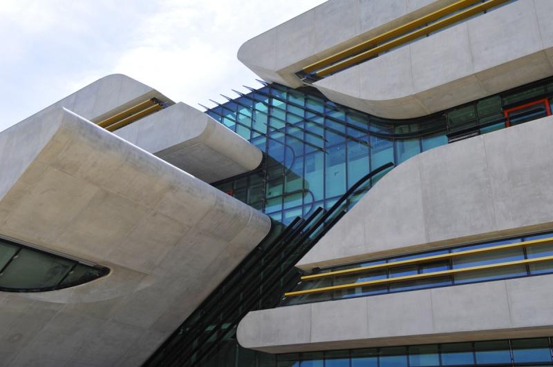 bâtiment - Zaha Hadid