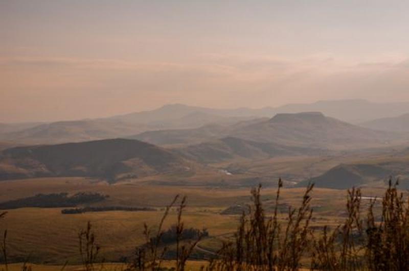 Panorama - Drakensberg - Afrique du Sud