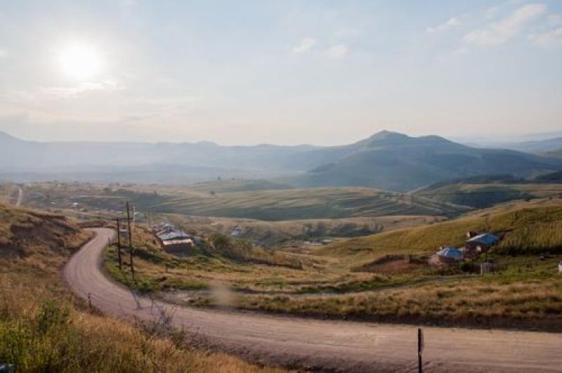 Vallées - montagnes - Drakensberg - Afrique du Sud