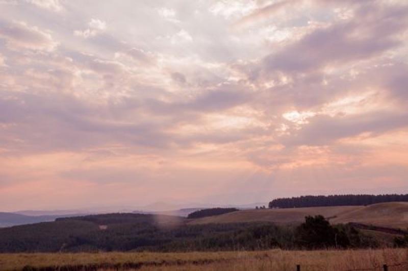 Coucher de soleil - Drakensberg - Afrique du Sud