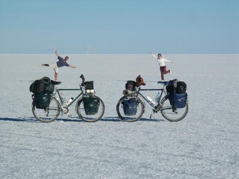 Trip-interview - Nathalie et Xavier en vélo
