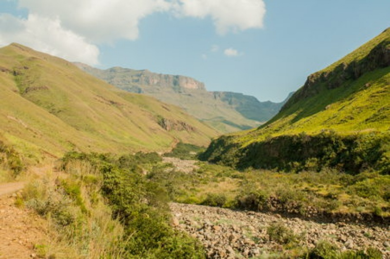 Voyage en Afrique du Sud, le Sani pass, la rando à faire !