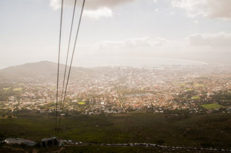 Cape Town - Table Mountains - Afrique du Sud