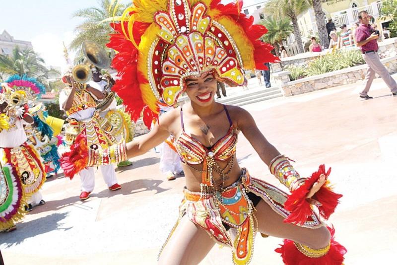 Danseuse - Carnaval Junkanoo - Bahamas