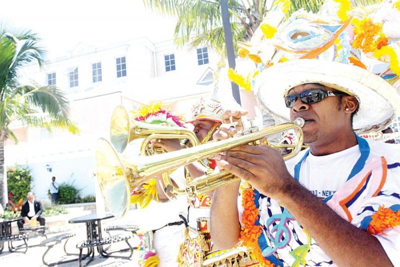 Musique - Carnaval Junkanoo - voyage Bahamas